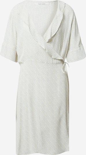 NUÉ NOTES Kleid 'BARAKA' in beige / hellblau / weiß: Frontalansicht