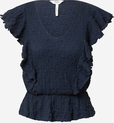 OBJECT Tričko 'ANNA' - marine modrá, Produkt