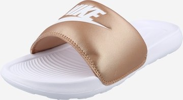 Nike Sportswear Mules 'Victori One' in Bronze