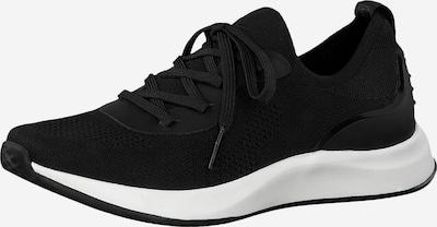fekete TAMARIS Rövid szárú edzőcipők: Elölnézet