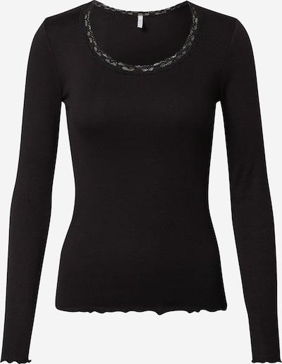 Tricou 'Linn' Hailys pe negru, Vizualizare produs