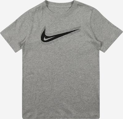 Nike Sportswear Shirt in graumeliert / schwarz, Produktansicht