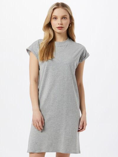 Urban Classics Curvy Kleid in graumeliert, Modelansicht