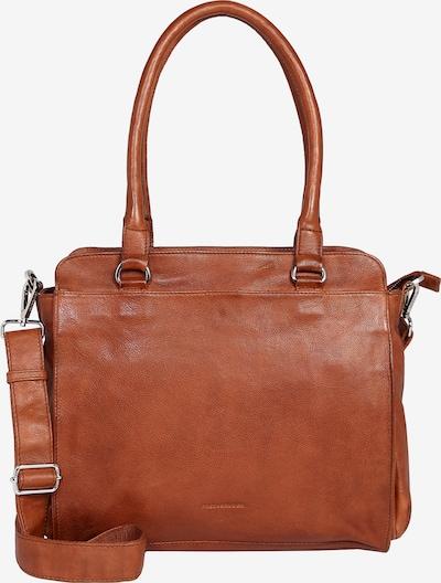 FREDsBRUDER Handtasche Rise in braun / kastanienbraun / rostbraun, Produktansicht