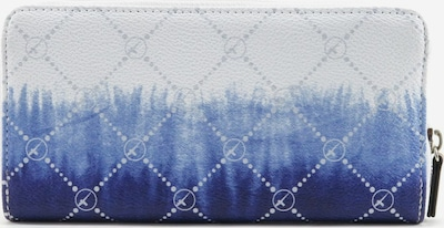TAMARIS Portemonnaie in blau / hellblau / weiß, Produktansicht
