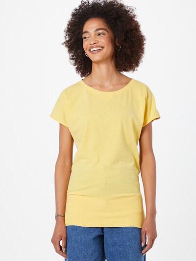 Fli Papigu Тениска 'Schnitzel' в жълт меланж: Изглед отпред