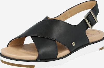UGG Sandale in schwarz, Produktansicht