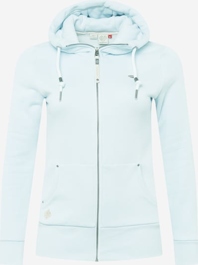 Ragwear Plus Sudadera con cremallera 'NESKA' en azul claro, Vista del producto