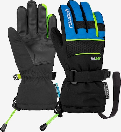 REUSCH Fingerhandschuhe 'Connor R-TEX® XT Junior' in blau / schwarz, Produktansicht