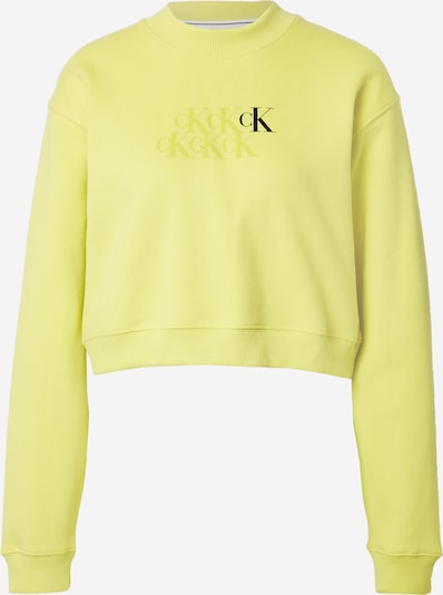 Calvin Klein Jeans Mikina - žltá / čierna, Produkt