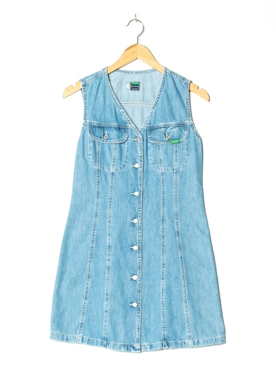 UNITED COLORS OF BENETTON Jeanskleid in S in blue denim, Produktansicht