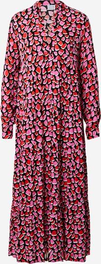 Emily Van Den Bergh Košulja haljina u svijetloroza / lubenica roza / crna / bijela, Pregled proizvoda