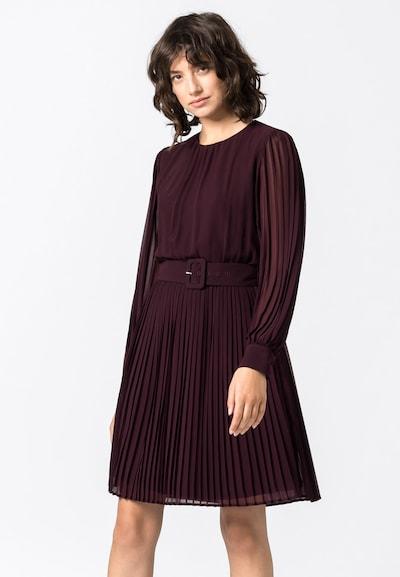 HALLHUBER Kleid in dunkellila, Modelansicht