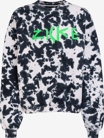 Magdeburg Los Angeles Sweatshirt 'Zicke' in green / black / white, Item view