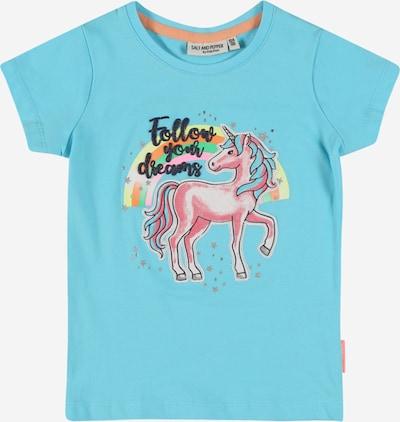 SALT AND PEPPER T-Shirt 'Dreams' en turquoise / violet / rose, Vue avec produit