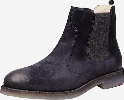 LLOYD Schuhe aus Rauleder in blau, Produktansicht