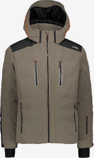 CMP Jacke 'Mid Stretch' in khaki / schwarz, Produktansicht