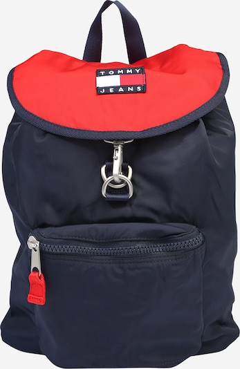 Tommy Jeans Sac à dos 'Heritage' en bleu marine / rouge / blanc, Vue avec produit