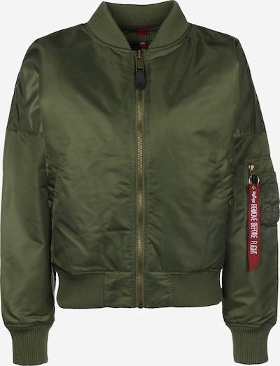 ALPHA INDUSTRIES Bomberjacke ' MA-1 OS ' in khaki, Produktansicht