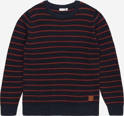 NAME IT Džemperis, krāsa - tumši zils / sarkans, Preces skats