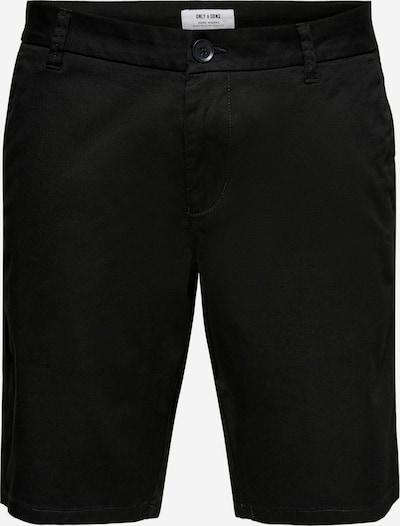 Only & Sons Hose in schwarz, Produktansicht