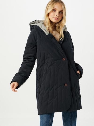 ROXY Mantel 'Madden' in schwarz, Modelansicht