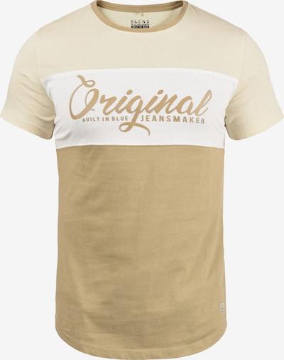 BLEND Rundhalsshirt 'Nero' in beige, Produktansicht