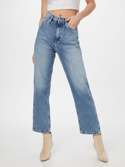 Calvin Klein Jeans Jeans in Blue denim, View model