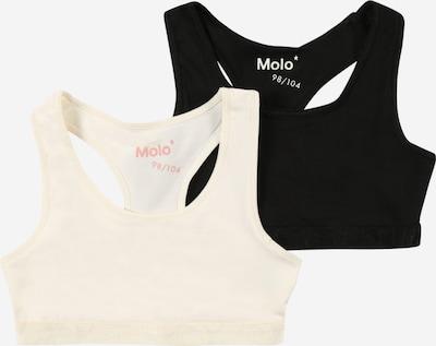Molo BH 'Jade' in de kleur Zwart / Parelwit, Productweergave
