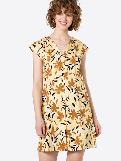 MAX&Co. Šaty - hnedá / tmavohnedá / žltá / oranžová / biela, Model/-ka