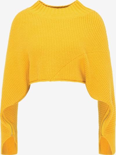 myMo ROCKS Pullover in gelb, Produktansicht