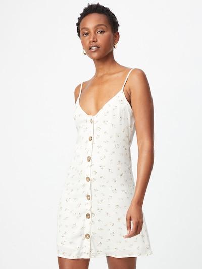 BILLABONG Letní šaty 'SWEET FOR YA' - olivová / růžová / bílá, Model/ka