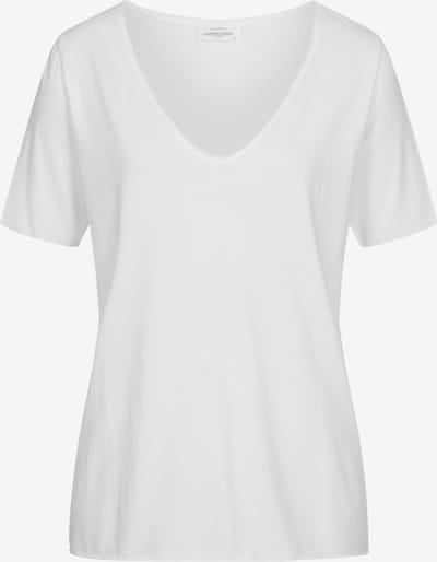 Cotton Candy T-Shirt 'NIVIA' in weiß, Produktansicht