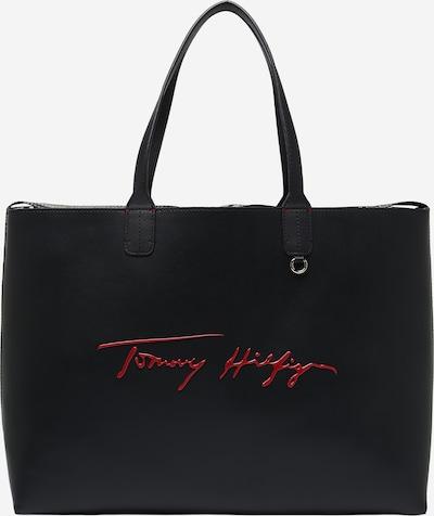 TOMMY HILFIGER Shopper in nachtblau / hellblau / rot / weiß, Produktansicht