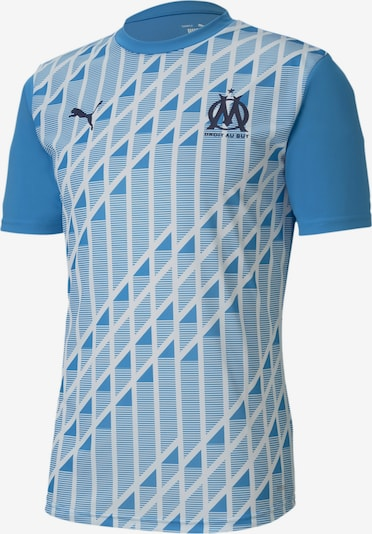 PUMA Trikot 'Olympique de Marseille Stadium' in hellblau / weiß, Produktansicht