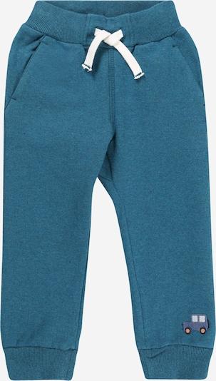 SIGIKID Hose in rauchblau / taubenblau / weiß, Produktansicht