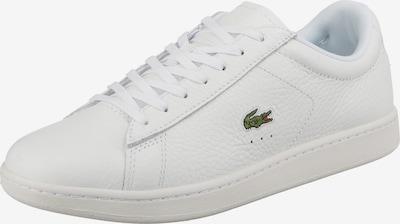 LACOSTE Baskets basses 'Carnaby' en blanc, Vue avec produit