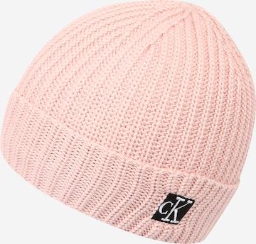 Calvin Klein Jeans Müts, värv roosa