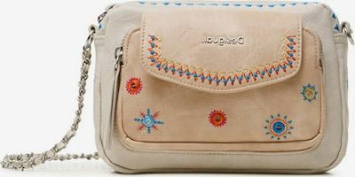 Desigual Bolso de hombro en beige / camelo / mezcla de colores, Vista del producto