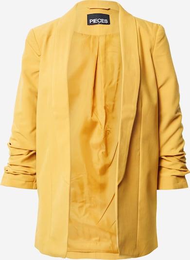 PIECES Blazers in de kleur Donkergeel, Productweergave