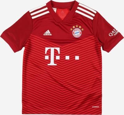 ADIDAS PERFORMANCE T-Shirt fonctionnel 'FC Bayern 21/22' en bleu / jaune / rouge / noir / blanc, Vue avec produit