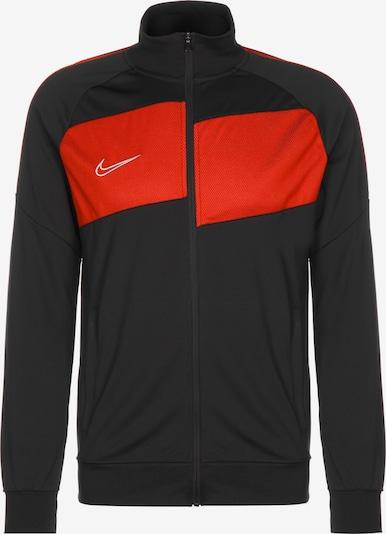 NIKE Trainingsjacke 'Dry Academy Pro' in orange / schwarz, Produktansicht