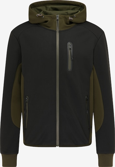 Mo SPORTS Sweat jacket in Olive / Black, Item view