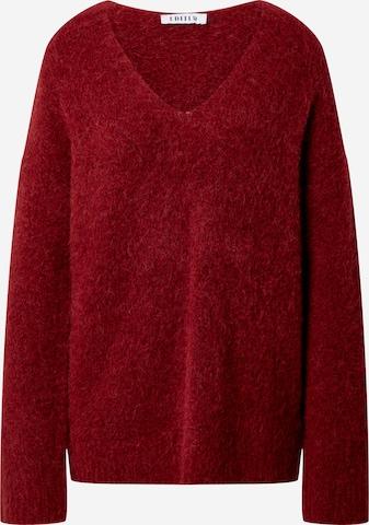 EDITED Sweater 'Fawini' in Red