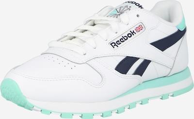 Sneaker low Reebok Classics pe verde jad / negru / alb, Vizualizare produs