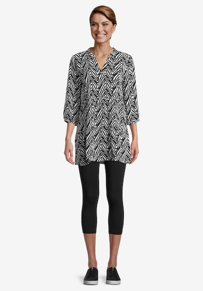 Betty Barclay Blouse in Black / White, View model