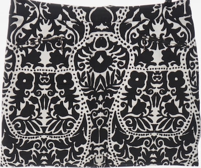 H&M Minirock in XL in schwarz / weiß, Produktansicht