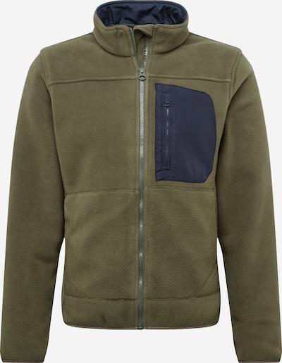 Flisinis džemperis 'HIKE' iš Only & Sons , spalva - tamsiai mėlyna jūros spalva / tamsiai žalia, Prekių apžvalga