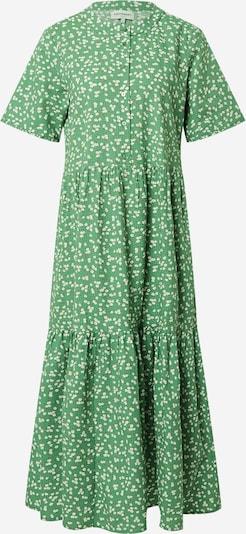 Lollys Laundry Kleid in karamell / cognac / limone / grasgrün / weiß, Produktansicht