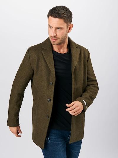 Demisezoninis paltas iš Les Deux , spalva - rusvai žalia, Modelio vaizdas